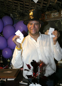 Schooner Wharf's Magician, Magic Frank 11th Anniversay Party