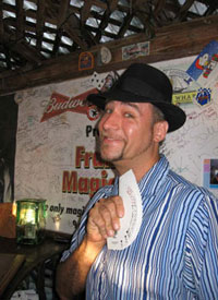 Schooner Wharf's Magician, Magic Frank, a night filled with magic