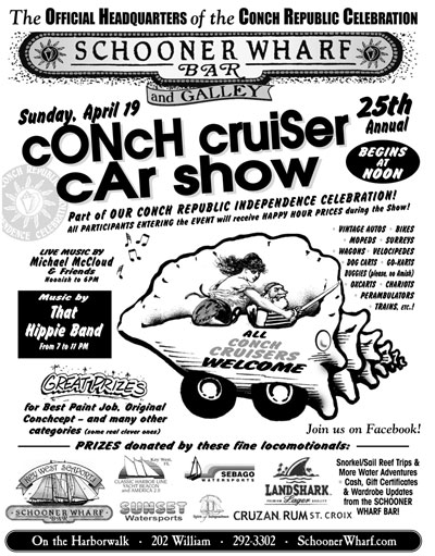 ANNUAL CONCH CRUISER CAR SHOW