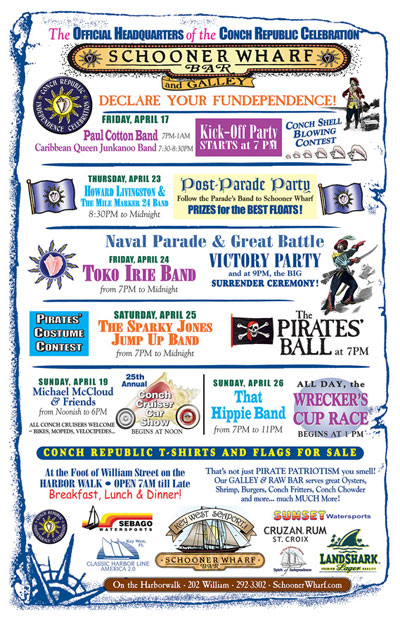 Conch Republic Independence Days 2015