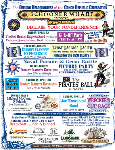 Conch Republic Independence Days 2016
