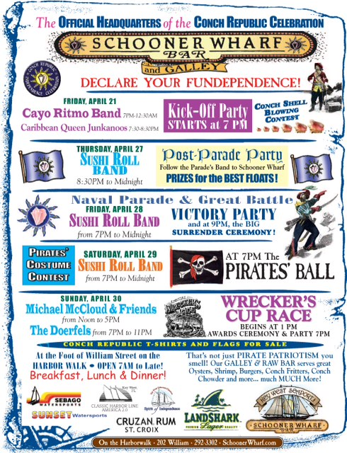 Conch Republic Independence Days 2017