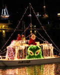 Schooner Wharf Bar & Galley Lighted Boat Parade Awards Ceremony 2017 Photo Image