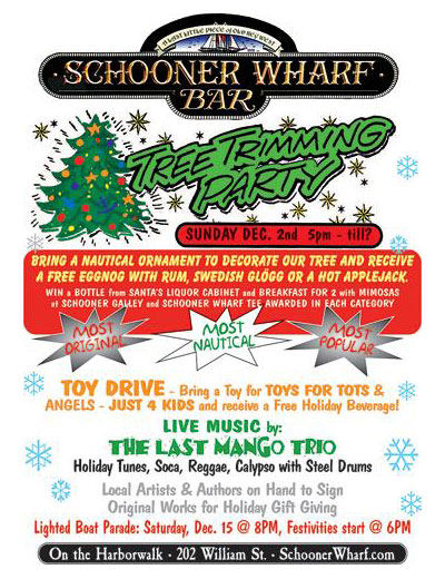 Schooner Wharf Annual Tree Trimming 2018 Flyer