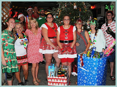 2019 Toys For Tots at the Schooner Wharf
