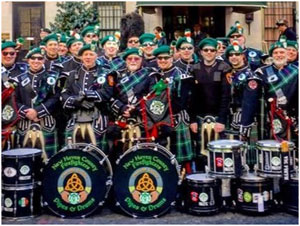 EMERALD SOCIETY PIPES AND DRUMS BAND