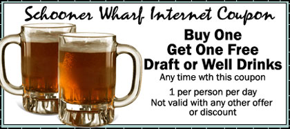 Schooner Wharf Internet Coupon